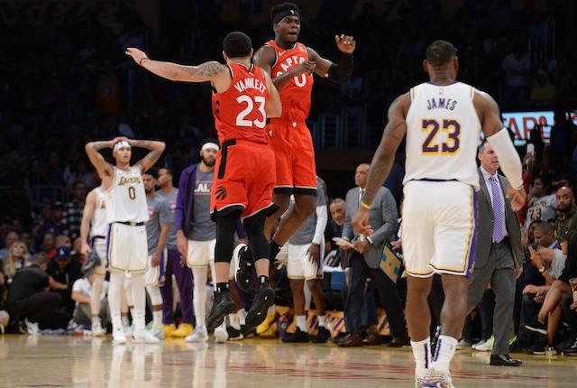 Lakers Highlights: Defense, Supporting Cast Struggle As In Loss To Raptors