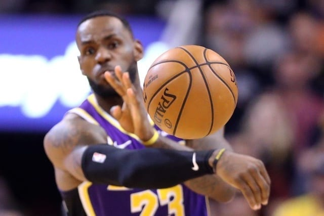 Lakers News: Lebron James Winning Assists Title Has 'never Been A Goal'