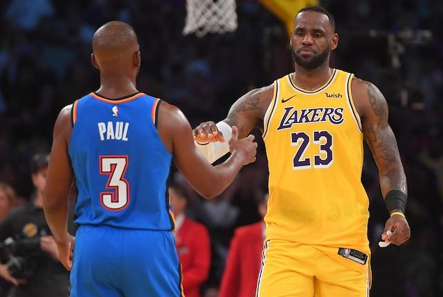 Lakers Vs. Thunder Preview & Tv Info: Aiming For Sixth Straight Win To Start Four-game Road Trip