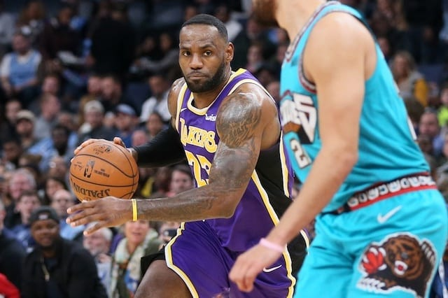 LeBron James reaches 33,000 career points in National Basketball Association milestone