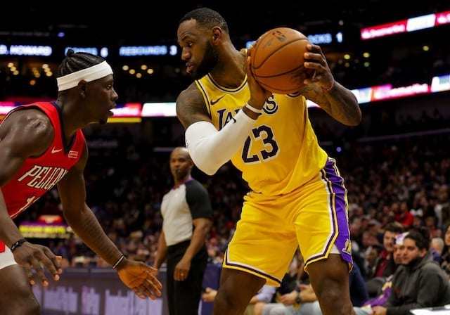 Lakers Continue 10-Game Streak With 125-103 Win Against Wizards