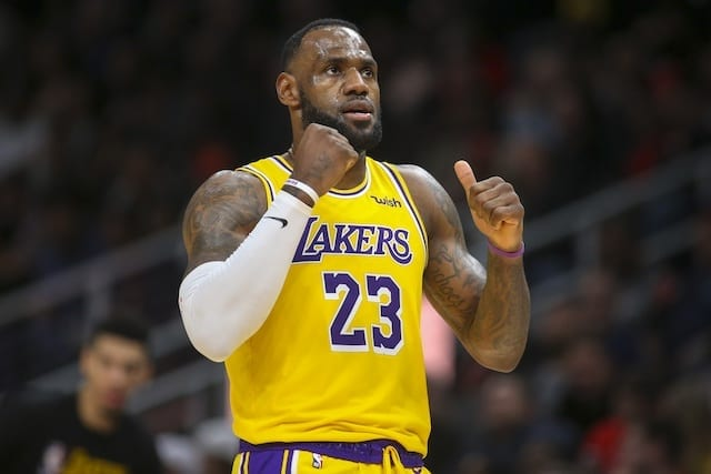 LeBron James, Lakers, NBA