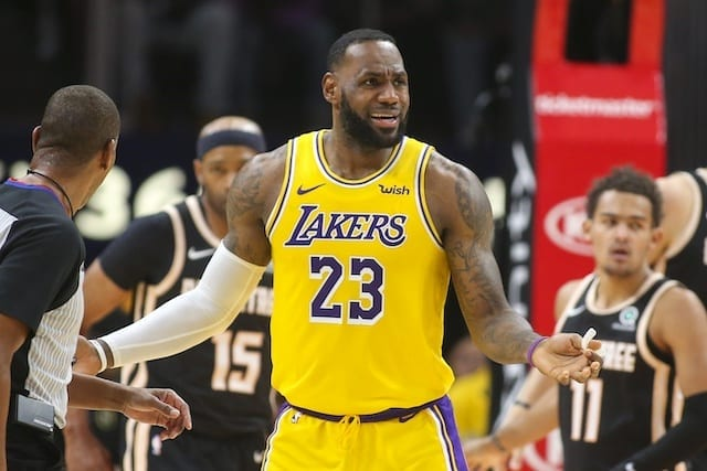 LeBron: Lakers determined to bounce back against Bucks after road streak ends