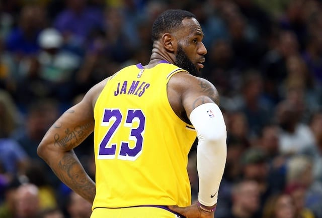 LeBron James Dealing With 'Nagging' Groin Issue Along With Thoracic Muscle Strain