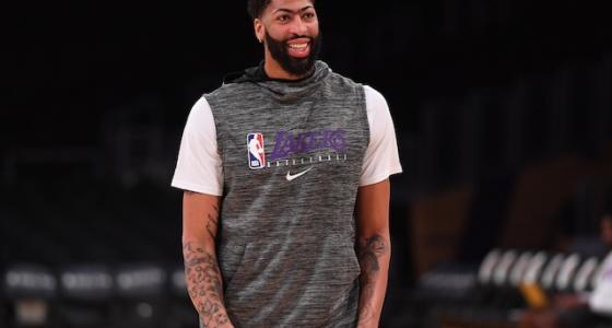Los Angeles Lakers power forward Anthony Davis