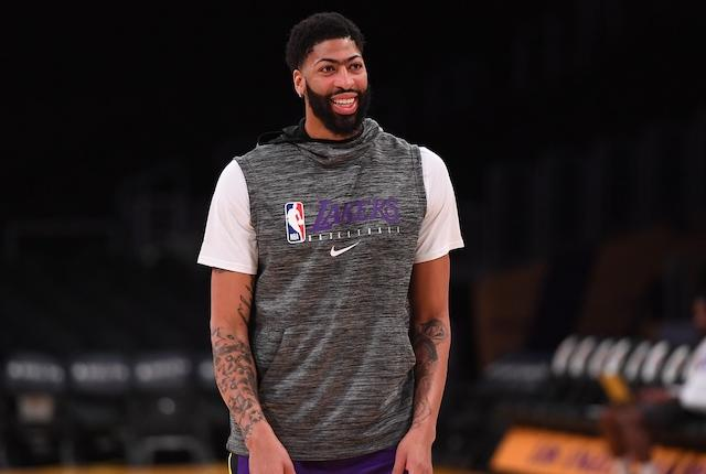 Los Angeles Lakers power forward Anthony Davis