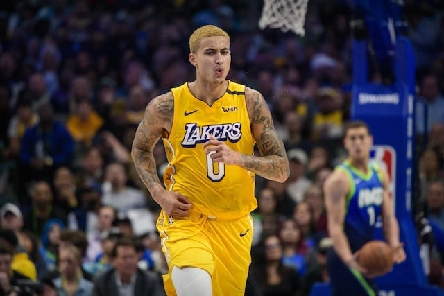 Kyle Kuzma Discusses Lakers Stepping Up Without Anthony