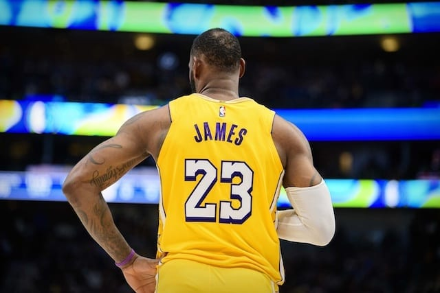 LeBron James, Lakers Lead Jersey And Merchandise Sales Lists For ...