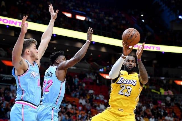 LeBron James, Lakers, Heat
