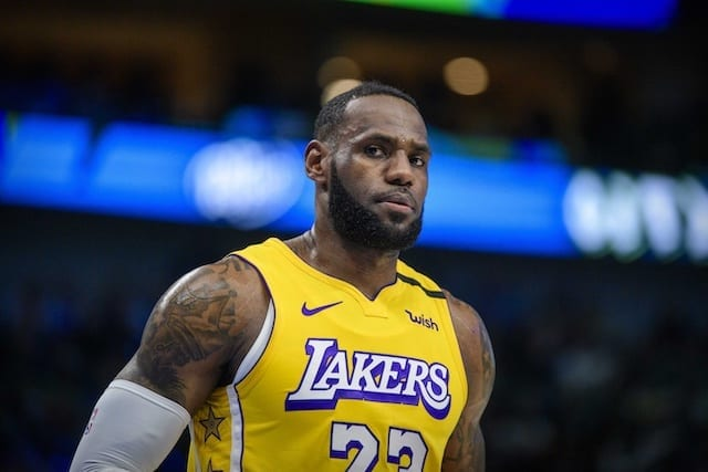 Lakers News Lebron James Wants To Be Laker For The Rest Of My Life Lakers Nation