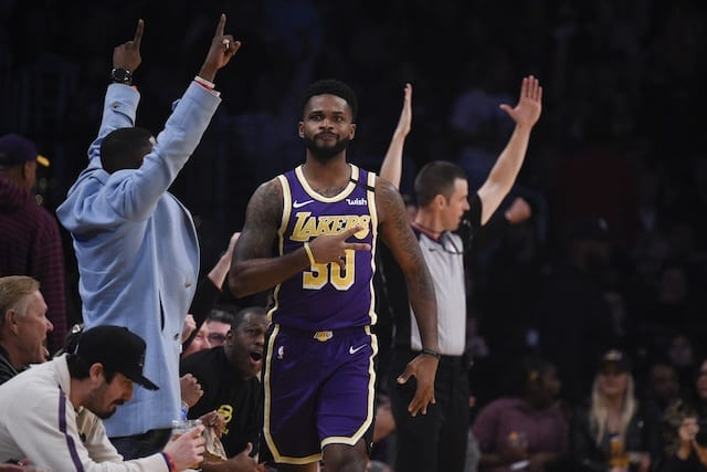Troy Daniels, Lakers