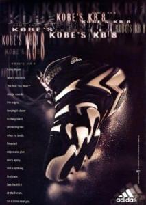 Adidas KB8 ad