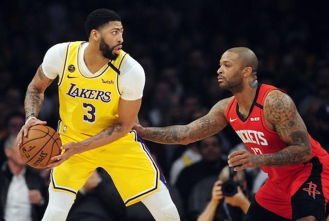 Anthony Davis, P.J. Tucker, Lakers