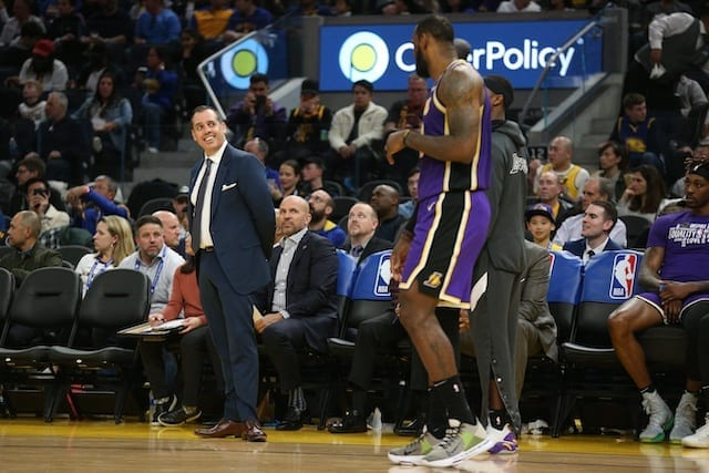 Frank Vogel, Lakers, LeBron James