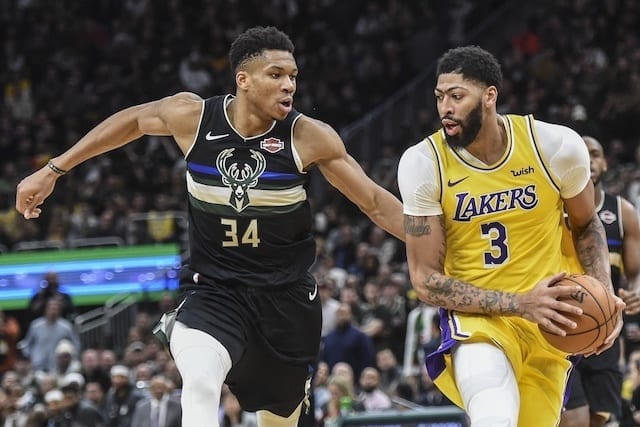 Giannis Antetokounmpo, Anthony Davis, Lakers, Bucks, Danny Green