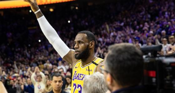 Los Angeles Lakers All-Star LeBron James
