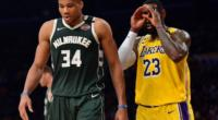 Giannis Antetokounmpo, LeBron James, Lakers