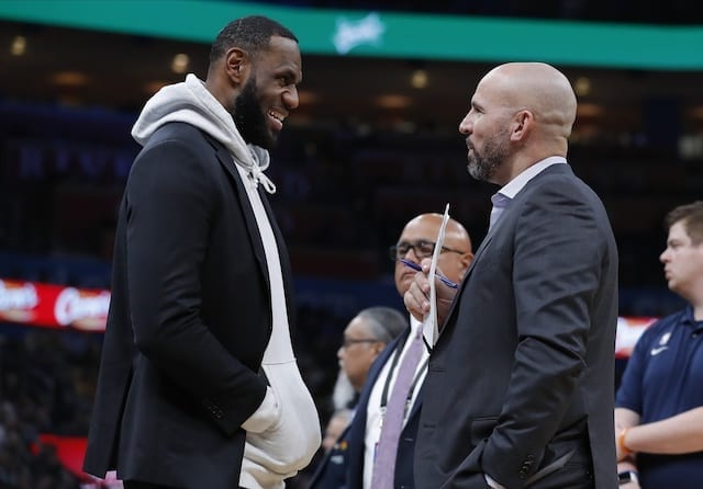 Jason Kidd Thinks LeBron James' IQ