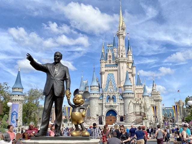 The NBA considers playing games at Disney World, according to the report