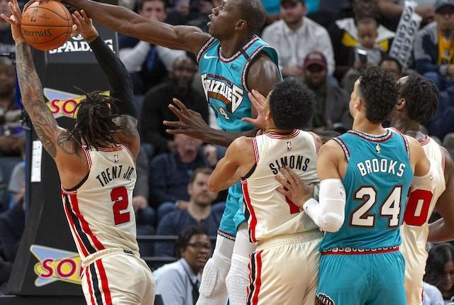 Memphis Grizzlies, Portland Trail Blazers