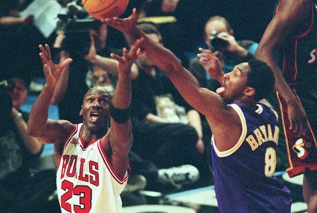Kobe Bryant, Michael Jordan, 1998 NBA All-Star Game