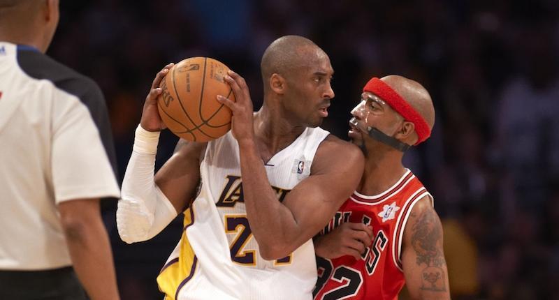 Kobe Bryant, Rip Hamilton