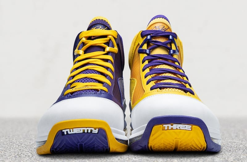 Nike LeBron 7 'Lakers Media Day