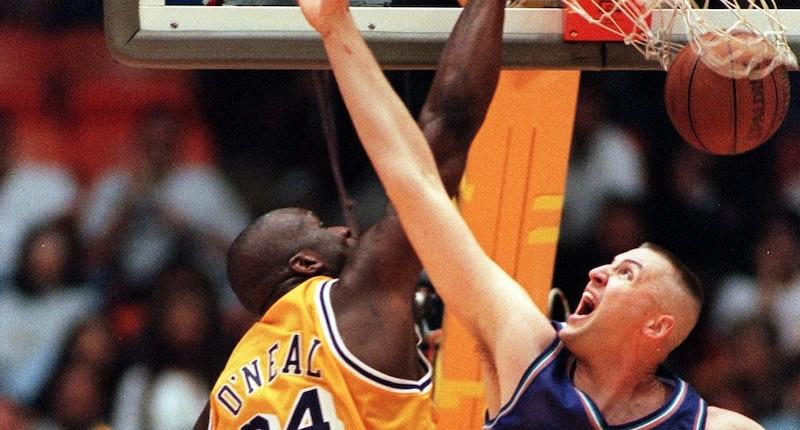 Shaquille O'Neal, Greg Ostertag