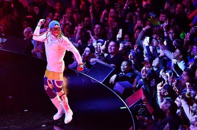 Lil Wayne, 2020 NBA All-Star Game
