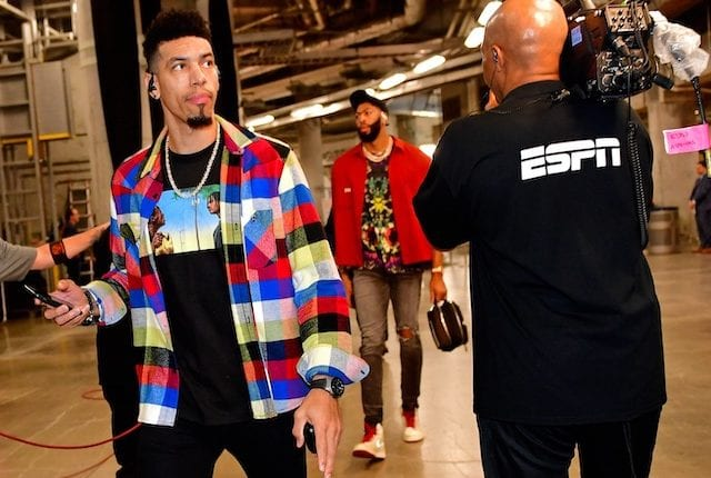 Anthony Davis, Danny Green