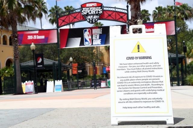 ESPN World Wide of Sports Complex, NBA restart