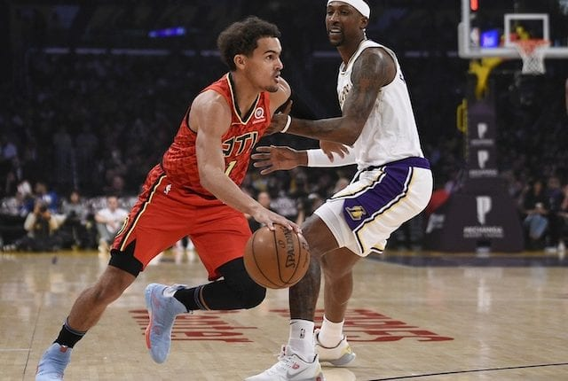 Kentavious Caldwell-Pope, Trae Young