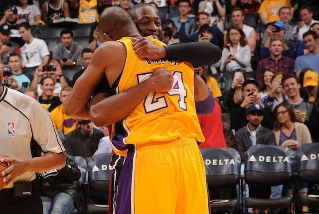 Kobe Bryant, Dwyane Wade
