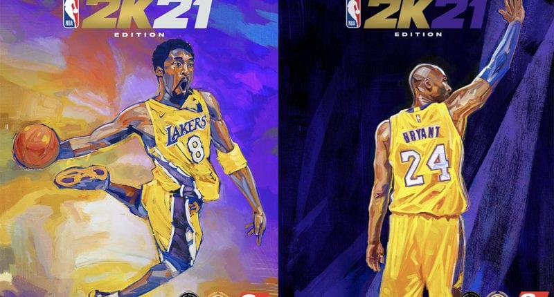 Kobe Bryant, NBA 2K21 Mamba Edition cover