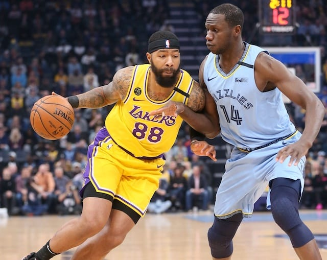 Lakers Vs Wizards Preview Markieff Morris Returning Lebron James Out