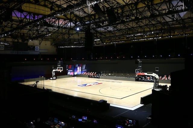 Court view, 2020 NBA Playoffs