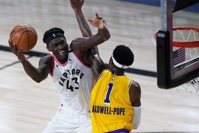 Kentavious Caldwell-Pope, Pascal Siakam, Toronto Raptors, Los Angeles Lakers