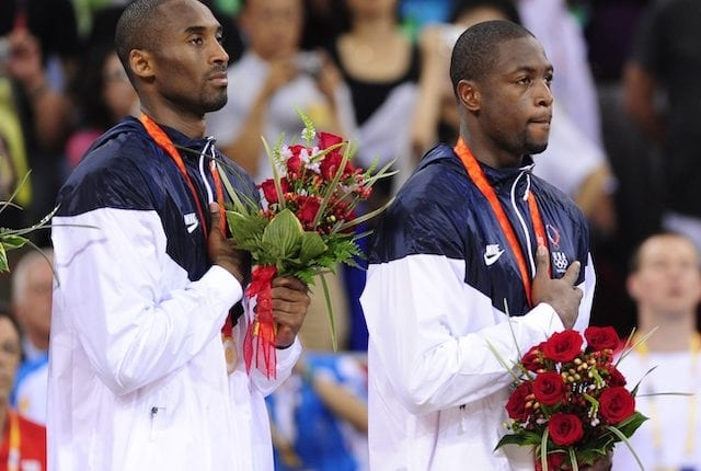 Kobe Bryant, Dwyane Wade, 2008 Olympics
