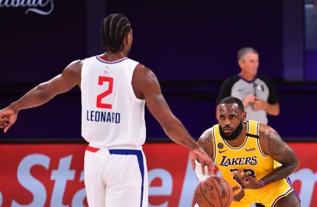 LeBron James, Kawhi Leonard