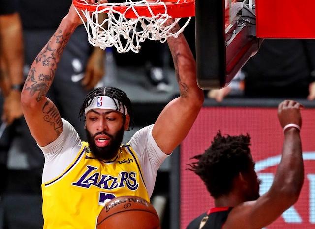 NBA Finals Recap: Anthony Davis, Lakers Dominate Heat In ...