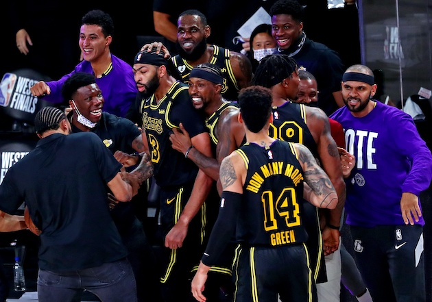 Lakers Playoff Highlights: Anthony Davis Drains Game ...