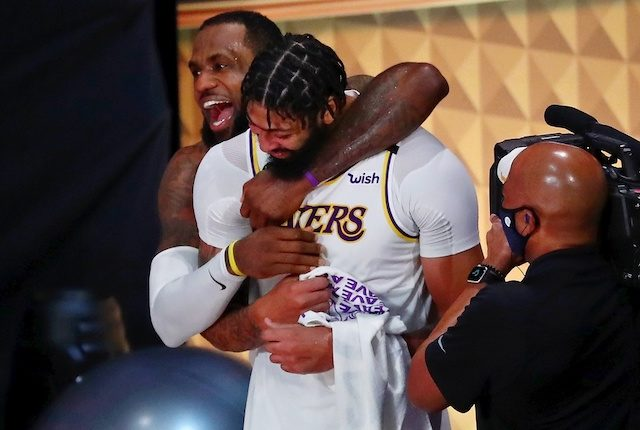 Anthony Davis, LeBron James, Lakers