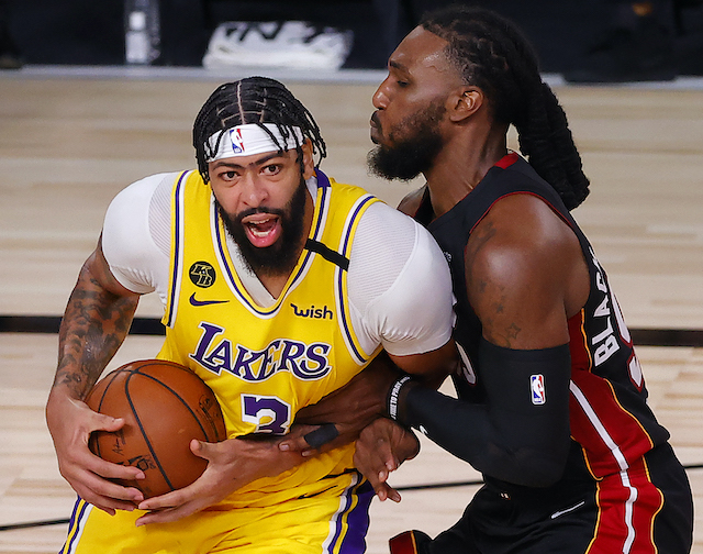 Nba Finals Highlights Anthony Davis Leads Lakers To Blowout Game 1 Victory