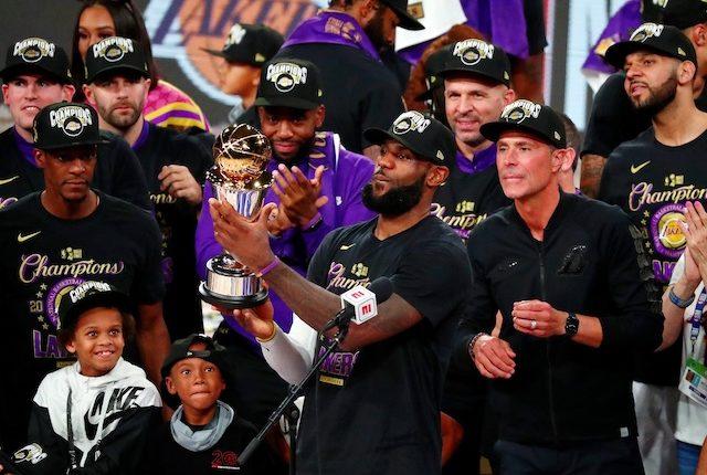 Jared Dudley, Jason Kidd, LeBron James, Rob Pelinka