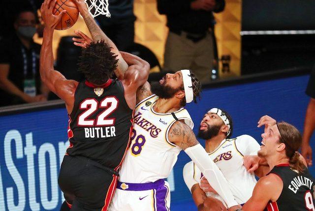 Jimmy Butler, Anthony Davis, Markieff Morris, Lakers