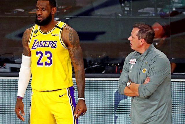 LeBron James, Frank Vogel