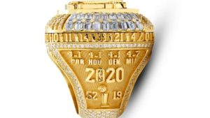 2020 Lakers championship ring