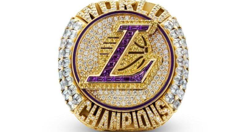2020 Lakers championship ring