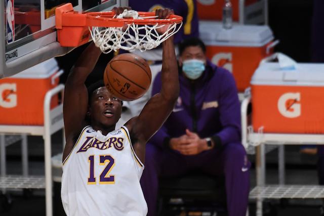Devontae Cacok, Lakers
