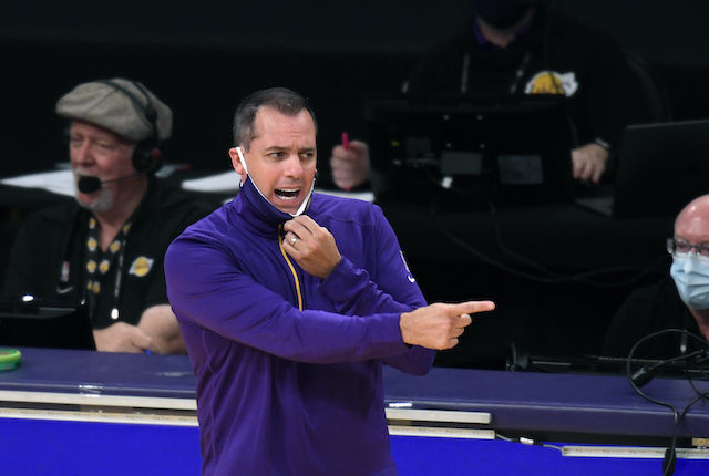 Lawrence Tanter, Frank Vogel, Lakers